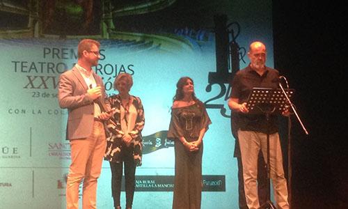 La Red Española de Teatros, Auditorios, Circuitos y Festivales de titularidad pública recoge su premio especial del Teatro de Rojas